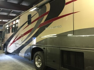 Tradewinds RV Restored Auto Body Paint Almaden RV San Jose CA